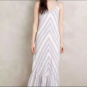 Holding Horses Striped Maxi (Anthro) Medium